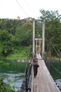 Suspension bridge, Thailand