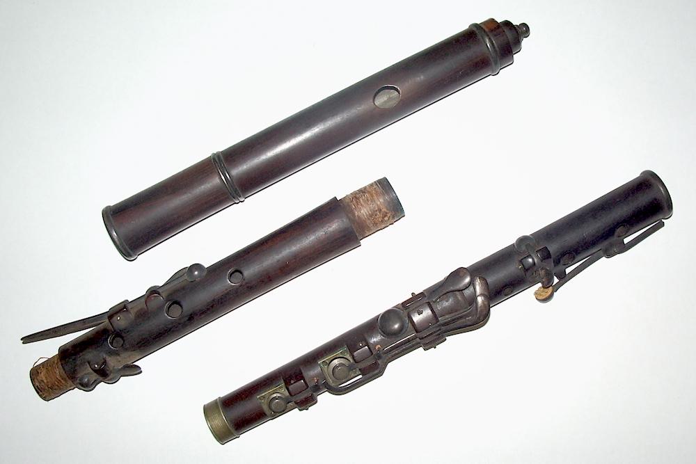 Lee flute before restoration