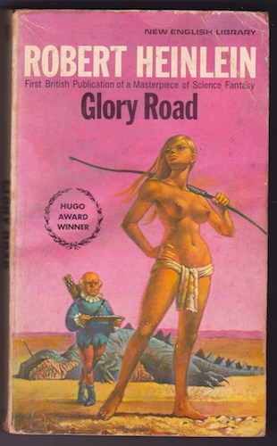 cover of Heinlein's Glory Road